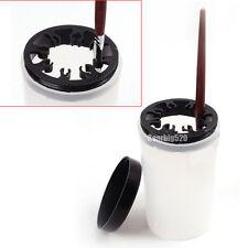 Brush Cleaner Holder Nail Art UV Acrylic Pen Pot Handy Cleaner Cup Pot