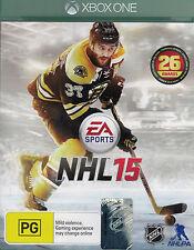 NHL 15, Microsoft Xbox One, XB1 game complete, Used