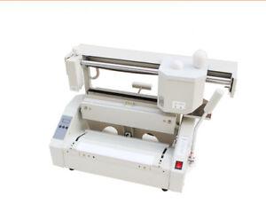 Hot Melt Book Glue Binding Machine Desktop Binding Machine Glue Book Binder 220V