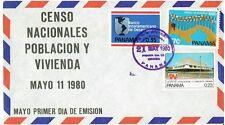 1980 PANAMA , FDC, CENSO  POBLACION Y VIVIENDA COMMEMORATIVE COVER C326