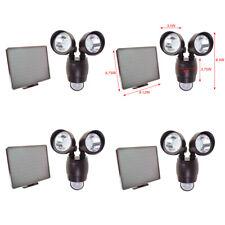 4 PK 20 SMD LED Dual Security Detector Solar Spot Light Motion Sensor Floodlight