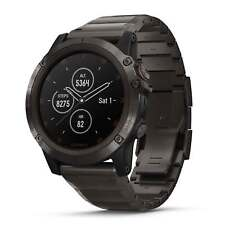 Garmin Fenix 5X Plus 51mm Sapphire Carbon Gray DLC Titanium/Titanium Band