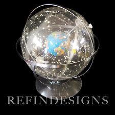 "HUBBARD CELESTIAL MODERN 12"" SOLAR SYSTEM WORLD GLOBE SPHERICAL CONCEPTS 1980's"