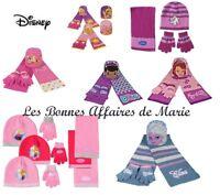 DISNEY - Ensemble bonnet, écharpe et gants La Reine des Neiges, Princess, Sofia