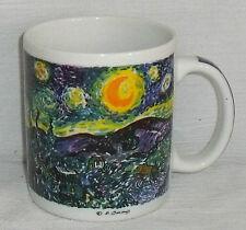 Chaleur Mug Cup Vincent Van Gogh STARRY NIGHT Burrows
