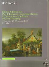 RARE BONHAMS INDIAN PAKISTANI ART PAINTINGS JEWELS 2007