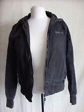 Ladies Coat - Bench, Size medium, black, cotton blend, hooded - 0705