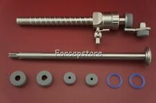 New 10.5x110mm Laparoscopic Magnet Seal Trocar Cannula Protect + Screw + Reducer