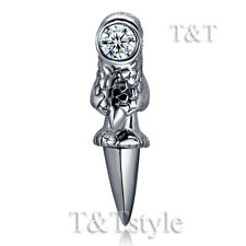High Quality T&T 316L Stainless Steel Dragon Claw Earring Single (EZ61)