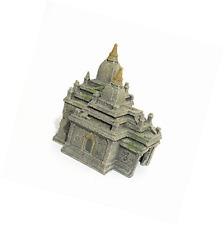 Palo de rosa Poliresina Bagan templo ruinas Ornamento de Acuario-peces tanque decoración