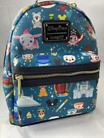 New Disney Parks Loungefly Magic Kingdom Icons Attractions Mini Backpack NWT