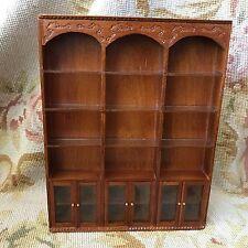 Bespaq Bluette Meloney Dollhouse Furniture Shelf Bookcase Cabinet