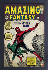 SPIDER-MAN AMAZING FANTASY #15 13x19 FRAMED GELCOAT POSTER MOVIE MARVEL COMICS!!