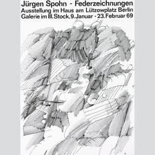 Jürgen Spohn. Federzeichnungen. Ausstellung Berlin 1969.