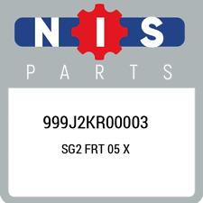 999J2KR00003 Nissan Sg2 frt 05 x 999J2KR00003, New Genuine OEM Part