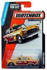 2015 Matchbox #11 MBX Adventure City Checker Cab