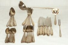 Altes WMF 1500 Chippendale Silberbesteck 90 Silber Besteck Essbesteck 45Teile 6P