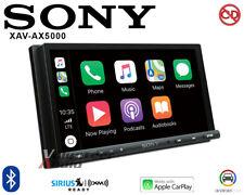 """Sony XAV-AX5000 7"""" Media Receiver Apple CarPlay/Android Auto SiriusXM USB"""