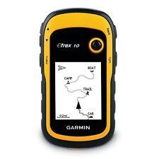 Garmin eTrex 10 Outdoor Handheld GPS Unit, Black/Yellow Worldwide Basemap
