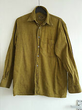 Next Men's Olive Green 100% Cotton Shirt, Size Small - PERFECT CONDITION!