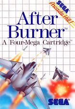 Framed Print - After Burner SEGA Master System (Poster Picture Jet Fighting Art)