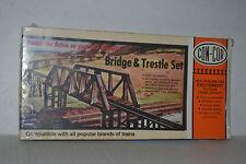 Con-Cor 9039 Bridge & Trestle Set Ho Scale