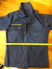 Bsa official long sleeve shirt, worn. See measurements below no size tag.