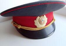 Russian Soviet MVD (Militia) Police visor cap 1970th