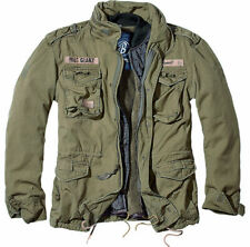 Brandit M65 Giant Field Jacket With Lining Parka Camel Khaki Army Style S
