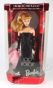 1994 Solo in the Spotlight Blonde Vintage Reproduction Barbie Doll