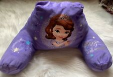 Princess Sophia Girls Back Rest Cushion Reading Pillow for Sofa Couch Chair Bed