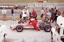 Graham Hill Gold Leaf Team Lotus 49B British Grand Prix 1968 Photograph 2