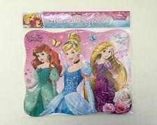 Disney Princesses Party Paper Placemats, 12 Count