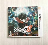 Persona Q2: New Cinema Labyrinth Nintendo 3DS Game software Japan import