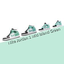 Nike Air Jordan 1 Mid Isla Verde Iglú Familia Pack para hombres y mujeres GS PS TD Pick 1