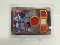 2019 Topps Museum Collection Justin Upton Primary Pieces Quad Jersey Bat  10/75!