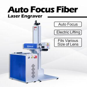 Autofokus-Faserlaser 175x175mm JPT50W Faserlaser-Markierungsmaschine Z axis