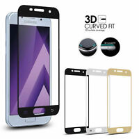 For Samsung Galaxy J3/J5/J7 Full Cover Tempered Glass Film Screen Protector-AW