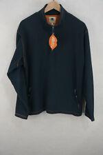 FAT FACE Mens FLEECE Sweatshirt MOUNTAIN CLIMBER Pullover Sweater ZIP Large