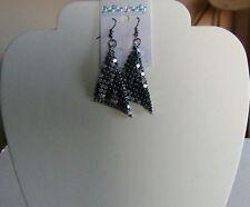 Aluminium Silver Coloured Costume Earrings