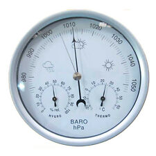 132mm Dial Mechanical Aneroid Barometer Hygrometer Thermometer Wheather Meters