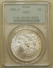 1883-O Morgan Silver dollar PCGS MS-63 uncirculated great luster OGH