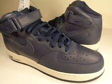 Nike Air Force 1 Mid '07 Obsidian Light Bone Tec Tuff SZ 14 (315123-401)