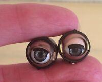 Doll Sleep Moving Eyes 8mm Blue Vinyl Doll Eyes Replace Repair Fix Doll Making
