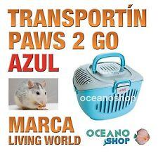 L.W Transportin Paws 2 Go Azul/Gris