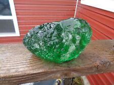 Glass Rock Slag Clear Limey Green 5.6 lb Rocks Tt33 Landscaping Aquarium
