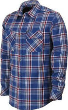 MATIX Evenson Flannel Shirt (L) Indigo