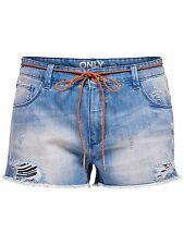 *595 NEU ONLY Damen Hose Jeans Hotpant onlGEMMA GIRLFRIEND SHORTS BJ4855   W27
