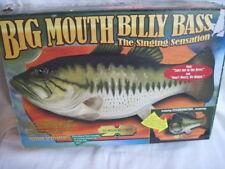 The Original Big Mouth Billy Bass W/ Orig. Box Brand Orig. Box Gammy Ind. 1999