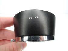 Minolta 55mm D57KB Camera Lens Hood For Auto Rokkor 55mm f/1.8 / 55mm f/2 (Dent)